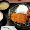 かつ丼元宇治 - 料理写真:ランチ定食からあげ