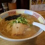 麺志 - あっさり道、600円