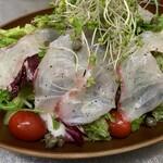 居酒屋 まち - 白身魚のマリネサラダ