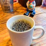 ムロマチカフェハチ - セットのコーヒー 量もたっぷり