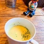 ムロマチカフェハチ - セットのスープ