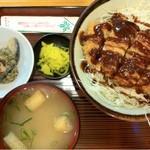 13809353 - みそカツ丼 550円 (日替わりランチ)