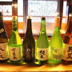 会津 田舎家 - 喜多方の地酒