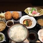 Shunsaiaoyama - カニクリームコロッケ御膳