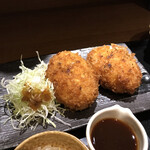 Shunsaiaoyama - カニクリームコロッケ アップ