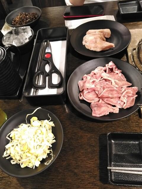 七輪焼肉 安安 高島平店の料理の写真