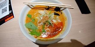 えびそば えび助 - 海老担々麺(2辛)