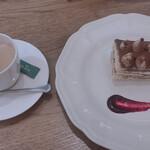 アフタヌーンティー ティールーム - 料理写真:ティラミス&コーヒー