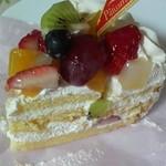 HANA - 料理写真:フルーツケーキ ¥300