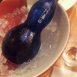 瓢箪の花 - 1 冷酒・八海山 (新潟県)