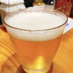蔵元 豊祝 - 私のグラスビール