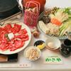 しい茸ランド かさや - 料理写真:椎茸狩り付きすき焼きコース
