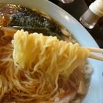 きんちゃん - ラーメンの麺