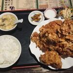 138110369 - 鶏の唐揚げ定食  1000円