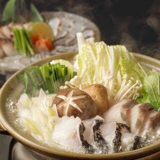 期間限定:高知県産の鰤と玉九絵のお鍋が登場