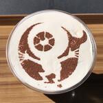 妖怪茶屋 - 目玉のおやじアイスカフェラテ
