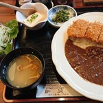 とんかつ・串揚げ 冨岳 - カツカレー