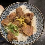 たまゆら - 牛すじ丼(¥450)