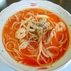 トラットリア マンマ - 料理写真:海の幸トマトスープスパゲティ