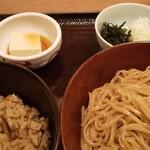澄まし処 お料理 ふくぼく - Aセット 名物鴨だしご飯・醤油かけ麺 1200円(税込)
