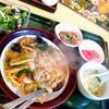 華龍 白石亭 - 料理写真:焼そばランチ