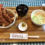 洋食とcafeじゅんぺい - 海老丼 松 4本