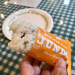 洋食とcafeじゅんぺい - カレーソーセージのジュンドック