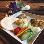 カフェ 米澤 - 料理写真:ピタパンセット 1000円