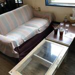 キャプテンカンガルー - ソファで食いました。