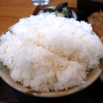丸福 - ご飯