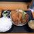 丸福 - ミックスフライ定食(850円)