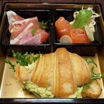 Salon de KANBAYASHI - しょっぱい系を間に挟めば無限に食べられる