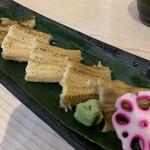 Taishuusushisutandokanekichi - 炙り穴子♪