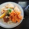 Jikaseimen sonosaki - 料理写真:「肉天ぶっかけうどん」