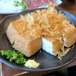 taishuubanikusakabafujiyama - 豆腐を素揚げにした本格的な厚揚げ