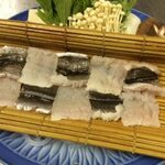 魚彩炭火ダイニング 一志 - 鱧なべ