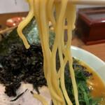 元喜家 - ラーメンリフト!!太い硬いストレート麺←この表現であ、合ってます??アタフタヾ(・ω・`;))ノ三ヾ((;´・ω・)ノアタフタ