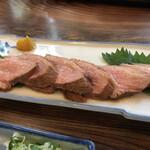 皿そば 渚庵 - 鴨皿(鴨ロースと皿そばのセット)の鴨ロース