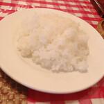 関口亭 - ライス330円