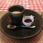 関口亭 - 洋酒なミルクプリン385円