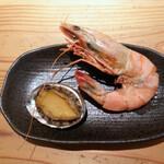 ナチュラルレストラン&デリ みどりえ - 天然有頭海老の含め煮