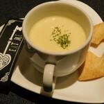 絵本の国のアリス - チャームのスープ(お通し)