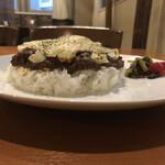 カレーハウスゴッド - クリームチーズドライキーマ(側面)