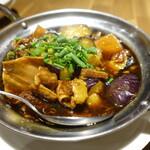 彩華 - 豚肉と茄子の煮込み?