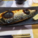 茶々 - 鯖の塩焼き