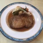 レストラン スコット - ポークロースメルシーソース