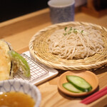 JAPA SOBA HANAKO - 天ぷら盛り合わせセット