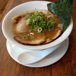 鳥白湯ラーメン はらや - 鶏白湯ラーメン  中華そば  ( 特製 )