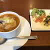 ティアブランカ - 料理写真:ミネストローネスープ、前菜