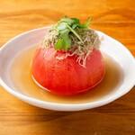 満月堂 - 丸ごとトマトのおでん